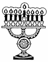 Chanukkah menorah, American Forces Information Service.