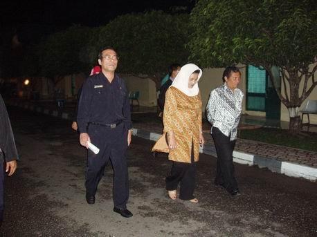 Menkes, Wakil Kadiskes SUMUT & Kepala KKP Medan
