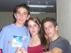 Oscar Fuertes, Sara Cano y yo!!(Navacerrada)
