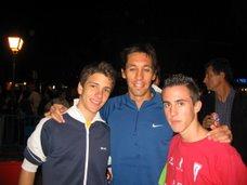 Jorge y yo con el grandisimo Luismi Berlanas