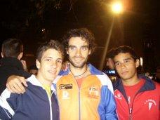 Sami y yo con Sergio Gallardo