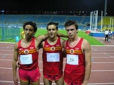 Mishael Garcia, Omar Vizuete y  Javier Cartagena