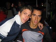 Arturo Casado y yo