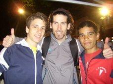 Sami y yo con Cesar Perez(mazo de majo!)