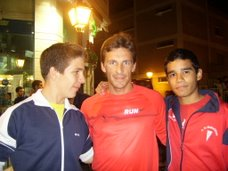Sami y yo con el inteligentísimo Rui Silva!(la cabeza pensante xD)