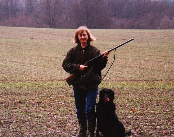 Rolf og mig på jagt