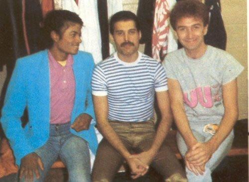 Michael Jackson, Freddie y John