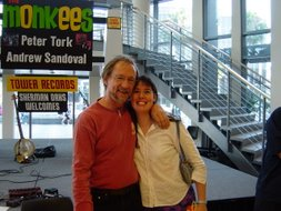 Peter Tork from the Monkees and Me!