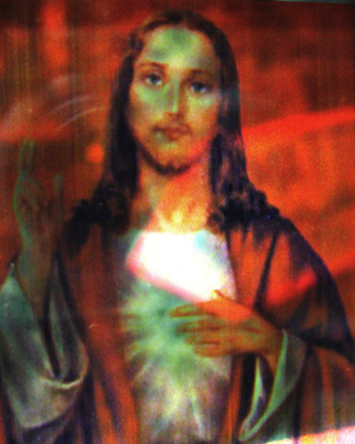 transparent jesus #1