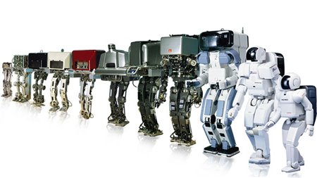 robots timeline