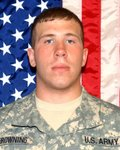 Private First Class Brian Browning ~ United States Army