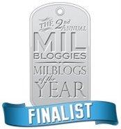 Milbloggie Finalist 2007