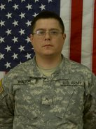 Private First Class Brett Walton ~ United States Army