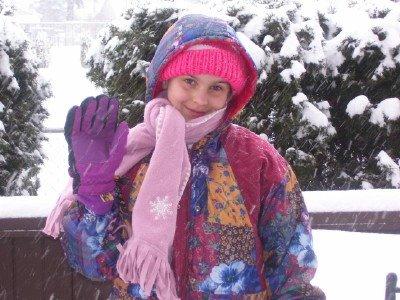 ~Hannah in the Snow~
