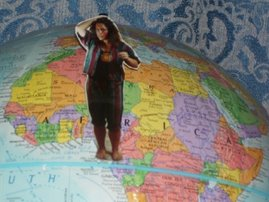 ~Me, on top of the world!