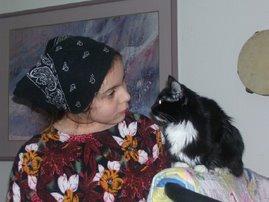 ~Hannah's kitty, Mittens~