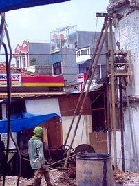 Lokasi Teluk Gong, DKI