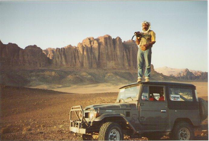 Desierto de waddi-Rum, el mítico desierto que recorrió Lawrence de Arabia