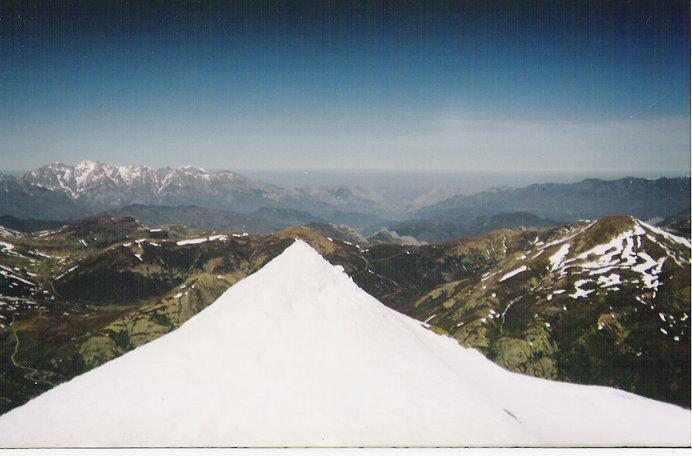 Otra cumbre, otra magnífica vista.