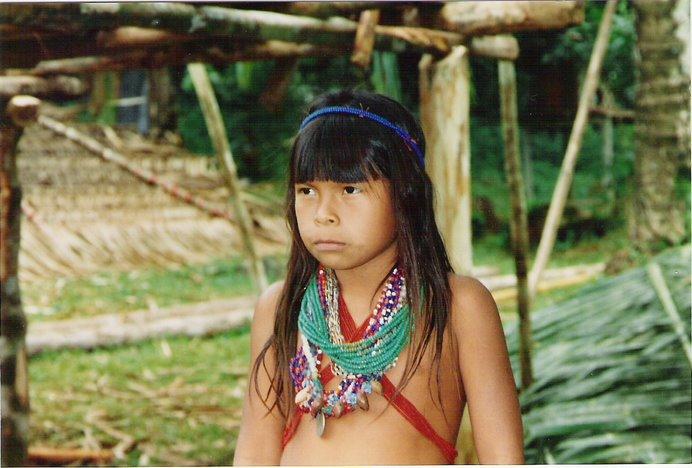 Niña Embera Chocoe