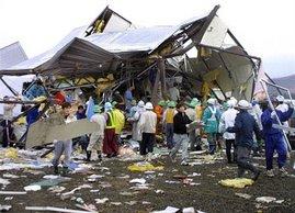 2006年11月8日, 日本北海道遭到有纪录以来最强烈的龙卷风袭击,造成9人死亡,25人受伤。