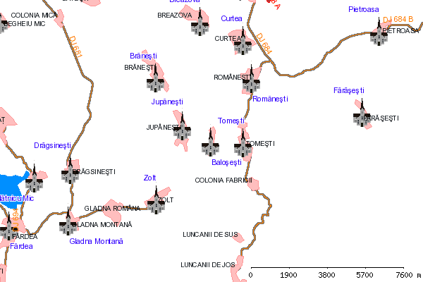 Harta Colonia Tomesti