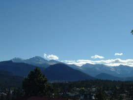 Estes Park - the gateway to the Rocky Mountains