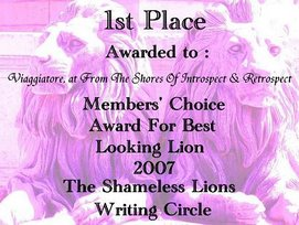Shameless Lions Writing Circle