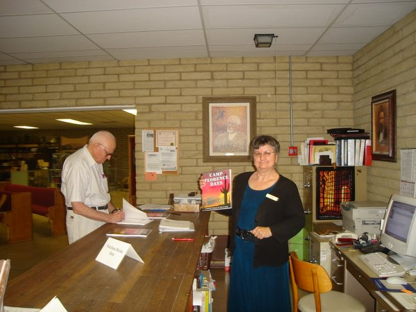Book Signing in Florence, Arizona