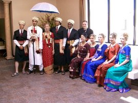 Relatives with the Groom and the Bride