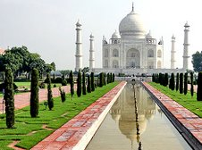 The Taj Mahal - India's pride and one of the seven wonders of the world