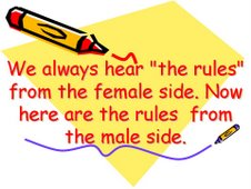 Rules By Men...