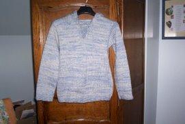26 novembre 2006 Pull bleu