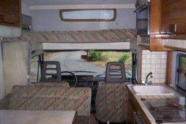 le camping car avant
