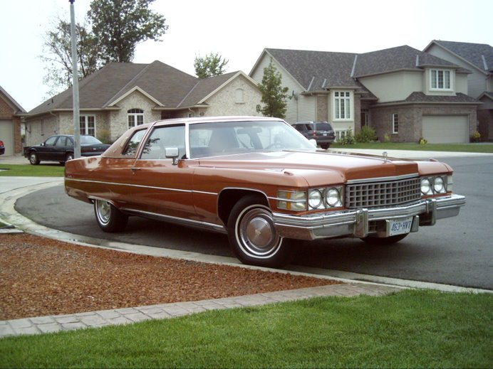 And Lastly, My 1974 Cadillac Coupe deVille...