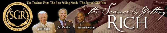 Bob Proctor, Jack Canfield and Michael Beckwith - Official Teachers of The Secret Science