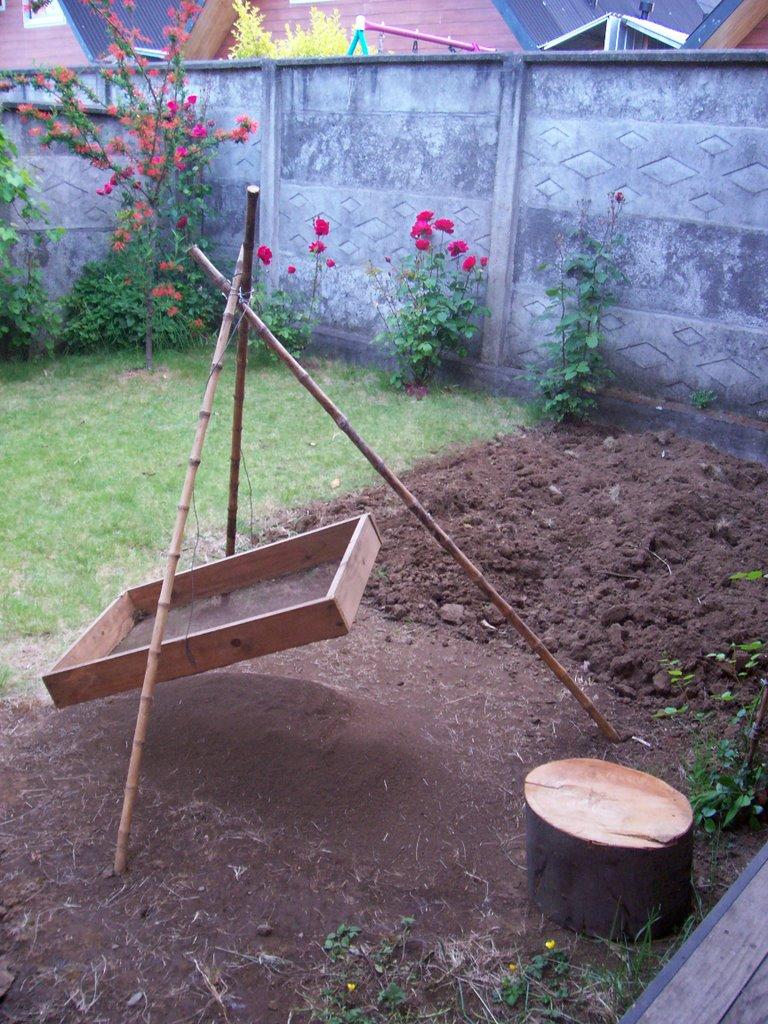 Navegante de la cruz del sur el harnero for Tierra para jardin