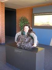 S.B.G lift the Hofsinger meteorite