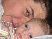 Isak & mamma
