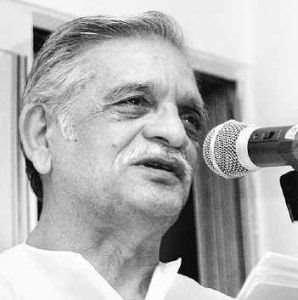 gulzar saab reciting in his sugar like voice [sugar jaggery honey]