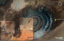 Sahara Bulls Eye , El Ojo del Sahara