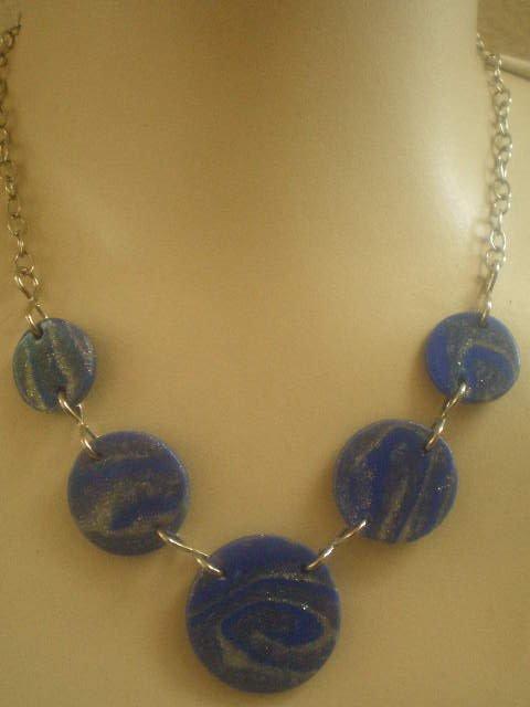 Azul com prata