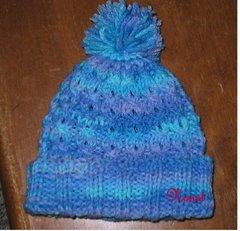 Cable Baby Hat-Rachel