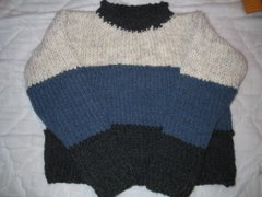 Yarn Girls Sweater For David