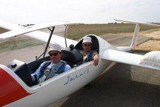 Prêts au décollage planeur janusB