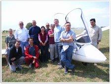 Valence : stage de pilotage planeur en juin 2005