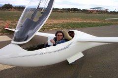 Bernadette prête au décollage
