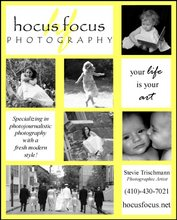 Stevie's photography ad