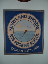 Maryland Shores Rug Hooking School