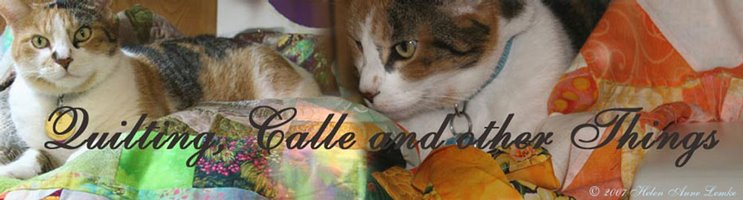 Quilting, Callee and other Things